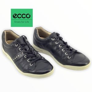 ECCO LEATHER SNEAKERS SIZE 44/10-10.5